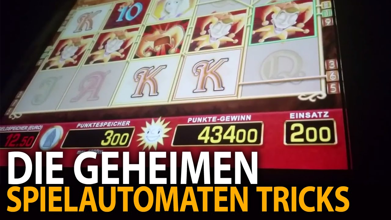 casino maschinen tricks
