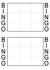 bingo spiel vorlage