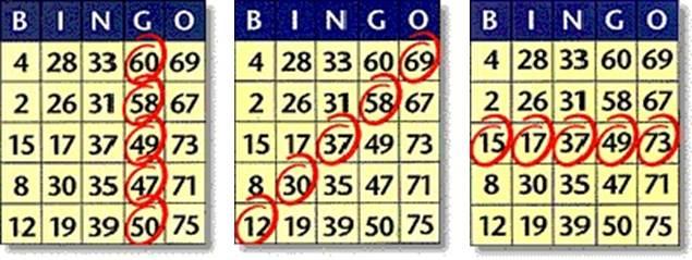 bingo gewinn