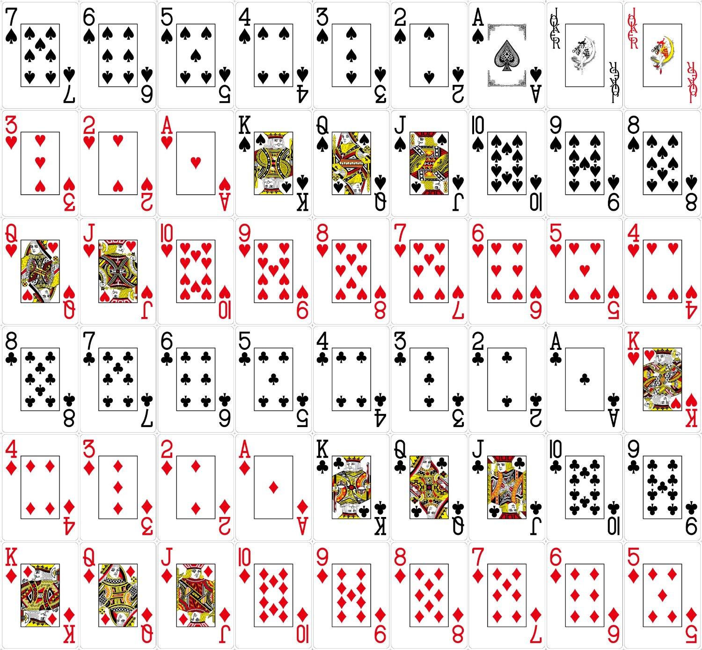 Pokerkarten Anzahl