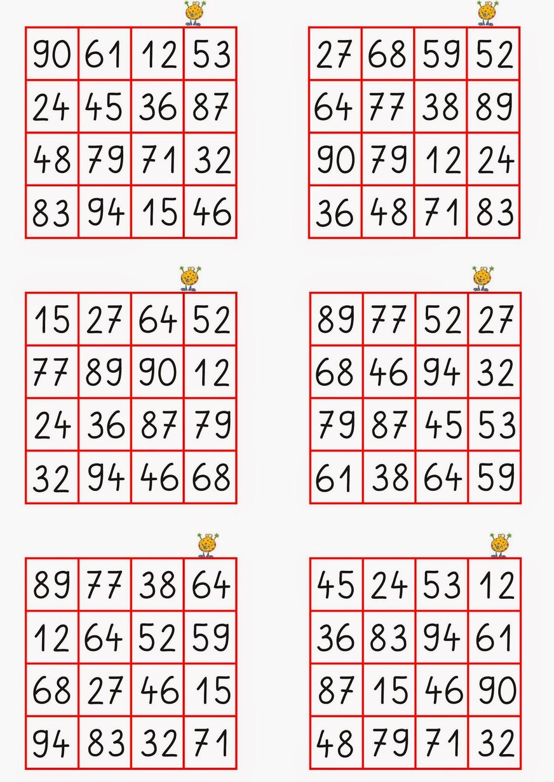 Spiel Zahlen