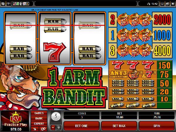Online Casino Einarmiger Bandit